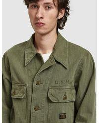 Neighborhood - Long Sleeve Mil-utility Shirt In Olive Drab - Lyst