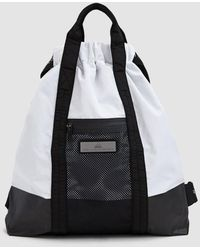 df3287a0f7b4 Lyst - Adidas By Stella Mccartney Convertible Backpack in Black