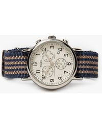 TIMEX ARCHIVE - Weekender Chrono - Lyst