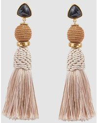 Lizzie Fortunato - Modern Craft Earrings In Sand - Lyst