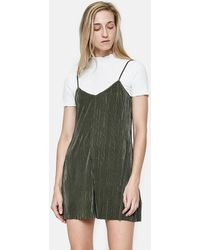 Farrow - Paloma Romper In Olive - Lyst