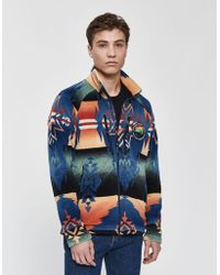 Polo Ralph Lauren - Beacon Multi Polar Fleece Jacket - Lyst