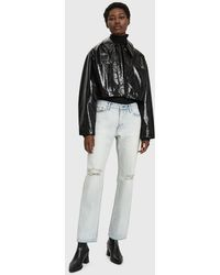 Beaufille - Inferna Faux Patent Leather Jacket - Lyst