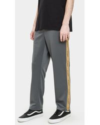 Stussy - Poly Track Pant In Grey - Lyst