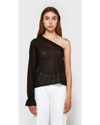 VEDA - Balance Top In Onyx - Lyst