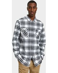Insight - Roots Radical Ls Shirt In Black/white - Lyst