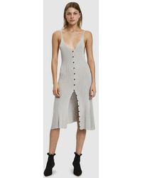 Baserange - Oder Silk Knit Dress - Lyst