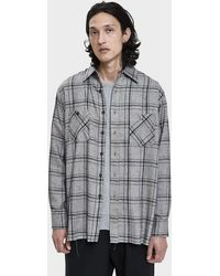 Needles - Herringbone Plaid Shirt - Lyst