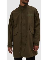 Native Youth - Apex Parka In Olive - Lyst