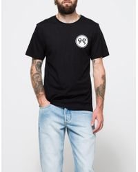 Soulland - Ribbon T-shirt In Black - Lyst