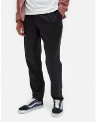 A Kind Of Guise - Elasticated Wide Trousers In Navy - Lyst