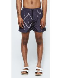 Insted We Smile - Persian Track Swim Short - Lyst