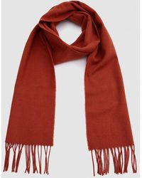 Norse Projects - Norse X Johnstons Lambswool Scarf In Ochre - Lyst