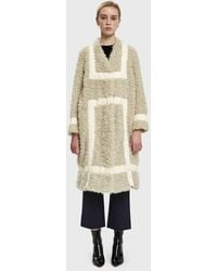 Rodebjer - Alasia Faux Shearling Coat - Lyst