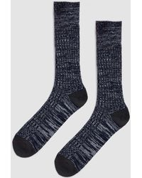 Mr Gray - Soft Wool Pile Sock - Lyst
