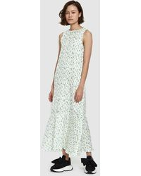 Creatures of Comfort | Lawrence Dress In Yellow Floral | Lyst