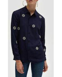 Bruta - Suns Shirt In Navy - Lyst