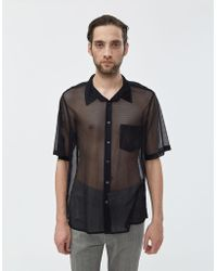 Cmmn Swdn Niels Boxy Button Up Shirt