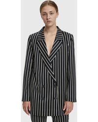 Just Female - Laurent Striped Blazer - Lyst