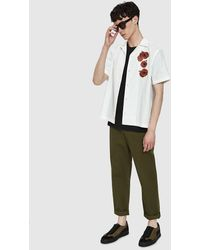 Saturdays NYC - Canty Opium S/s Shirt In White - Lyst