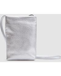 BAGGU - Phone Sling In Silver - Lyst
