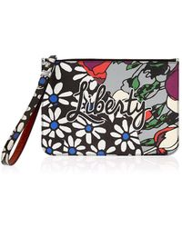 Liberty - Rq Daisy Tulip Wristlet Pouch Bag - Lyst