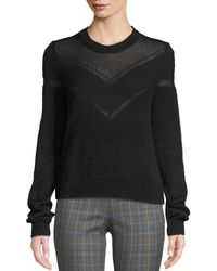 Rag & Bone - Blaze Crewneck Pullover Sweater - Lyst