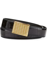 Stefano Ricci - Crocodile Buckle Belt - Lyst