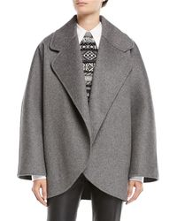 Michael Kors - Oversized Wool Jacket - Lyst