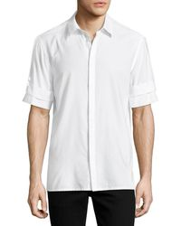 Helmut Lang - Armband Short-sleeve Shirt - Lyst