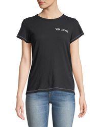 Rag & Bone - Yin Yang Short-sleeve Graphic Tee - Lyst