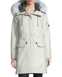 Spiewak - Aviation Fur-hood Parka Coat - Lyst