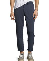 Joe's Jeans - Men's The Soder Slim Cropped Twill Pants - Lyst