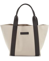 Brunello Cucinelli - Reversible Small Nubuck Tote Bag - Lyst
