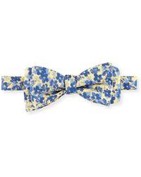 Edward Armah - Floral & Dot Reversible Bow Tie - Lyst