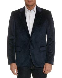 Robert Graham - Barton Velvet Tailored Fit Blazer - Lyst