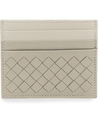 Bottega Veneta - Intrecciato Leather Card Case - Lyst