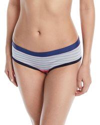 Xirena - Paloma Striped-print Bikini Briefs - Lyst