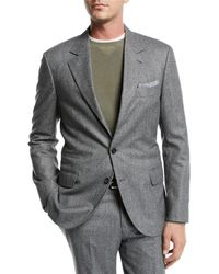 Brunello Cucinelli - Men's Houndstooth Two-piece Wool Suit - Lyst