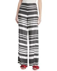 Trina Turk - Netti Parasol Striped Wide-leg Pants - Lyst