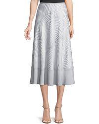 NIC+ZOE - Bohemian Groves A-line Skirt - Lyst