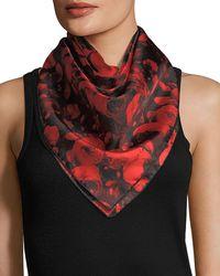 Givenchy | Roses Silk Twill Scarf | Lyst
