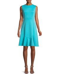 Elie Tahari - Lizzie Sleeveless A-line Dress - Lyst