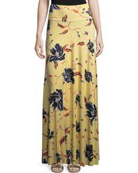 Rachel Pally - Tulip-print Long Full Convertible Skirt - Lyst