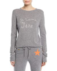 Bella Freud - Je T'aime Jane Cashmere Sweater - Lyst