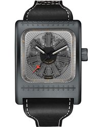 Tockr Watches - Radial C47w Leather Watch - Lyst