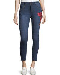 Velvet Heart - Elsie Embroidered Skinny Jeans - Lyst