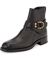 Tom Ford - Guilford Leather Ankle Boots - Lyst