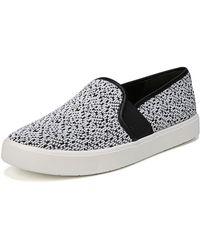 Vince - Blair Yeti Knit Slip-on Skate Sneakers - Lyst