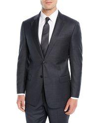 Emporio Armani - Men's Mini Houndstooth Two-piece Suit - Lyst